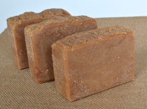 Goat Milk & Oatmeal Hot Process Soap