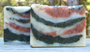 Ginger Patchouli Hot Process Soap