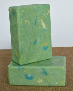 A soap I made for a competition that was crumbly.  Now it is awesome!