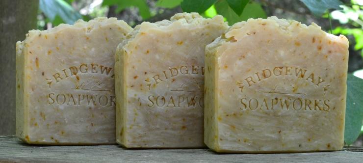 Castile Soap with Calendula Petals